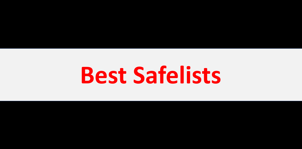 The Best Safelists for Email Marketing