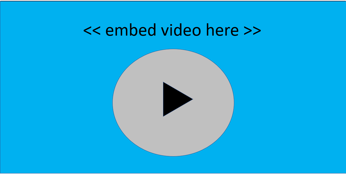 embed video in emails
